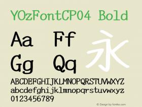YOzFontCP04