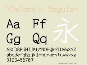 YOzFont04
