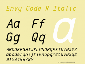 Envy Code R