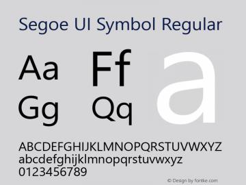Segoe UI Symbol