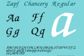 zapf chancery