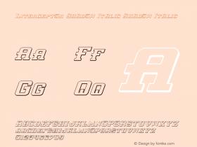 Interceptor Shadow Italic