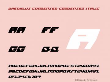 Daedalus Condensed