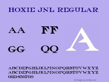 Hoxie JNL