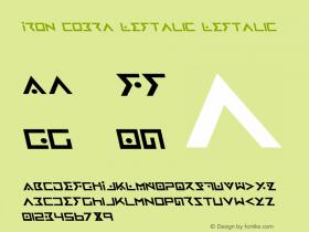 Iron Cobra Leftalic