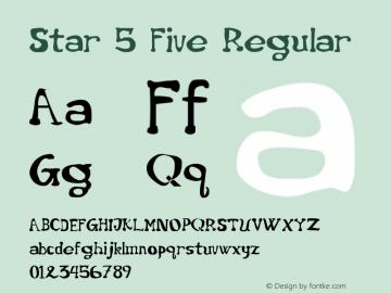 Star 5 Five