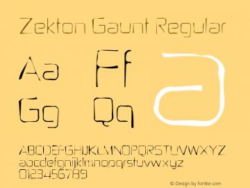 Zekton Gaunt