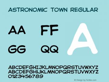 Astronomic Town
