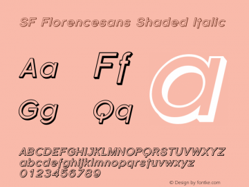 SF Florencesans Shaded