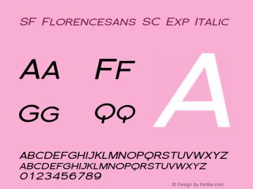 SF Florencesans SC Exp