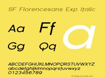 SF Florencesans Exp