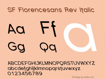 SF Florencesans Rev