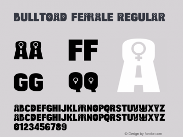 Bulltoad Female