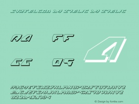 Gyrfalcon 3D Italic
