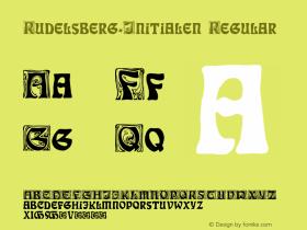 Rudelsberg-Initialen