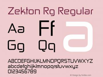 Zekton Rg