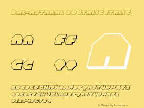 Bal-Astaral 3D Italic
