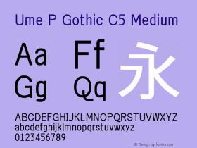 Ume P Gothic C5