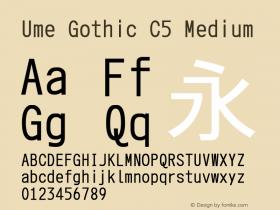 Ume Gothic C5