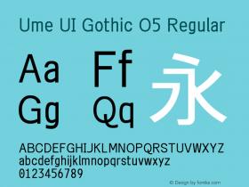 Ume UI Gothic O5