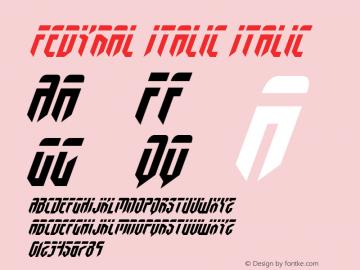 Fedyral Italic
