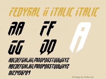 Fedyral II Italic