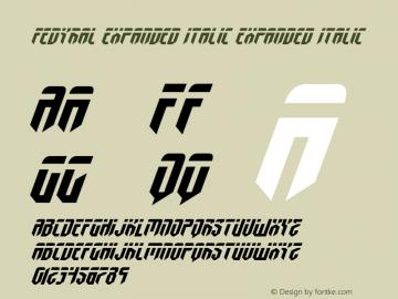 Fedyral Expanded Italic