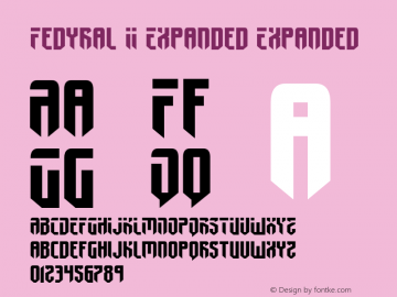 Fedyral II Expanded