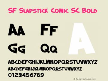 SF Slapstick Comic SC