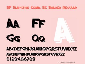 SF Slapstick Comic SC Shaded