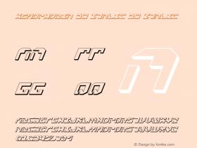 Xenophobia 3D Italic