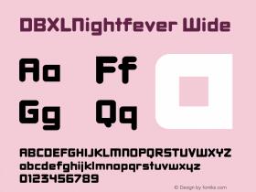 DBXLNightfever