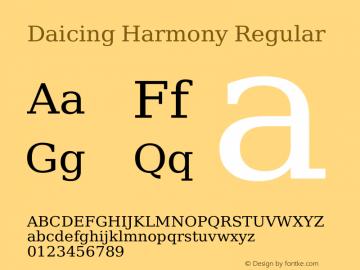 Daicing Harmony