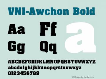 VNI-Awchon
