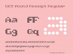 UCT Found Receipt