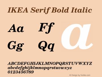 IKEA Serif