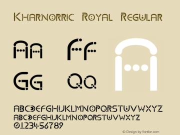 Kharnorric Royal