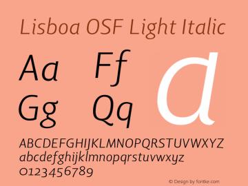 Lisboa OSF Light