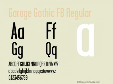 Garage Gothic FB