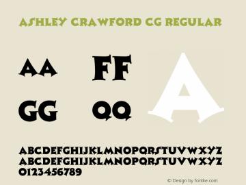 Ashley Crawford CG