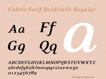 EideticSerif-BoldItalic