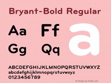 Bryant-Bold