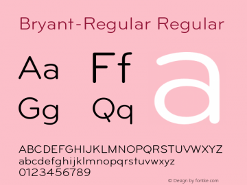 Bryant-Regular