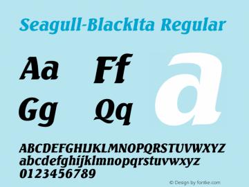 Seagull-BlackIta