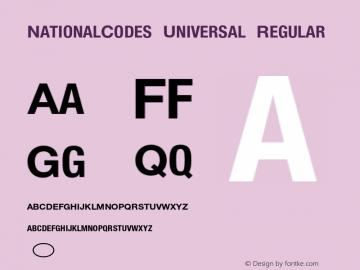 NationalCodes Universal