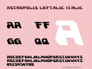 Astropolis Leftalic