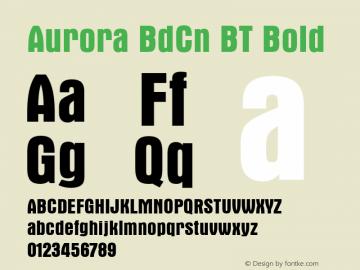 Aurora BdCn BT