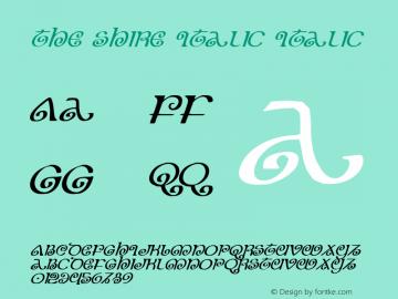 The Shire Italic