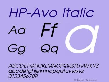 HP-Avo