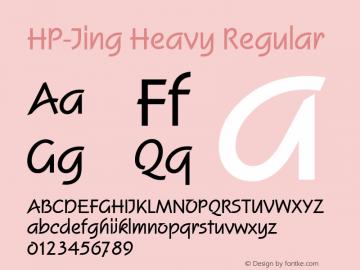 HP-Jing Heavy